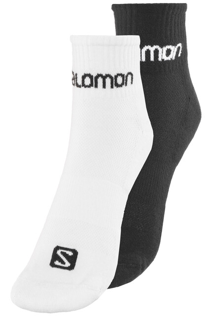 Salomon Evasion Socks 2 pack whiteblack